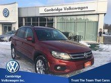 2014 Volkswagen Tiguan Comfortline 6sp at Tip
