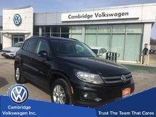 2014 Volkswagen Tiguan Trendline With Convenience Pkg