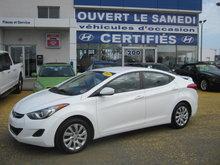 Hyundai Elantra GL Jamais accidenté, un seul propriétaire 2013