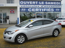 Hyundai Elantra L+ **climatisation **regulateur de vitesses** 2013