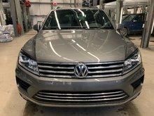 2017 Volkswagen Touareg Wolfsburg Edition (CERTIFIED)