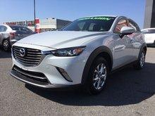 Mazda CX-3 GS, GROUP DE LUXE, AWD, JAMAIS ACCIDENTÉ 2016 CUIR, TOIT OUVRANT, CAMÉRA DE RECULE, SIÈGES AVANT CHAUFFANT