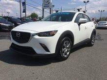 Mazda CX-3 GX, BLUETOOTH, CAMERA, RÉGULATEUR, A/C 2017 JAMAIS ACCIDENTÉ, UN SEUL PROPRIÉTAIRE