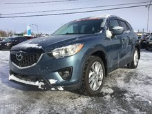 Mazda CX-5 GT, AWD, TOIT, A/C BIZONE, CUIR, SIÈGES CHAUFFANTS 2015 JAMAIS ACCIDENTÉ
