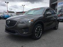 Mazda CX-5 GT, AWD, CUIR, NAVIGATION (GPS), MAGS, A/C BIZONE 2016 JAMAIS ACCIDENTÉ