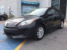 Mazda Mazda3 GS-SKY, SIÈGES CHAUFFANTS, BLUETOOT, MAGS, A/C 2013 JAMAIS ACCIDENTÉ, UN SEUL PROPRIÉTAIRE