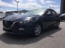 Mazda Mazda3 GX-SKY, JAMAIS ACCIDENTÉ, UN SEUL PROPRIÉTAIRE 2014 AC, BLUETOOTH,GARANTIE JUSQU EN 2019