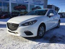 Mazda Mazda3 GS SIEGES CHAUFFANTS, CAMERA DE RECUL, 2014 JAMAIS ACCIDENTÉ, UN SEUL PROPRIÉTAIRE