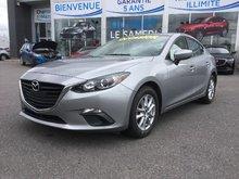 Mazda Mazda3 GS,SIEGES CHAUFFANTS,BLUETOOTH,CAMERA,NAVIGATION 2015 JAMAIS ACCIDENTÉ, UN SEUL PROPRIÉTAIRE