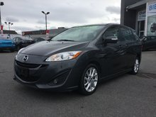 Mazda Mazda5 GT, TOIT, SIÈGES CHAUFFANTS, A/C AUTO, MAGS, CUIR 2017 BLUETOOTH, SONAR DE RECUL