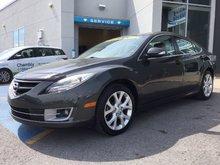 Mazda Mazda6 GT, SIÈGES CHAUFFANTS, BLUETOOTH, TOIT, CUIR 2012 UN SEUL PROPRIÉTAIRE, BAS KILOMETRAGE