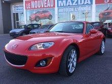 Mazda MX-5 GT, **SEULEMENT 15000 KM** TOIT RÉGIDE, CUIR 2011 JAMAIS ACCIDENTÉ, UN SEUL PROPRIÉTAIRE