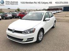 2017 Volkswagen Golf Trendline  - $159.91 B/W