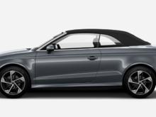 2019 Audi A3 Technik Grey Exterior, Black Interior, 228 HP