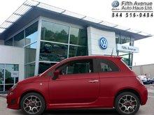 2015 Fiat 500 Turbo  -  Bluetooth -  Fog Lamps - $120.68 B/W