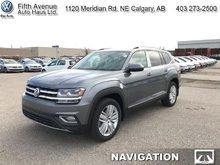 2018 Volkswagen Atlas Execline 3.6 FSI  - Navigation - $339.01 B/W