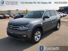 2018 Volkswagen Atlas Comfortline 3.6 FSI  - Bluetooth - $292.85 B/W