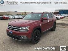 2018 Volkswagen Atlas Execline 3.6 FSI  - Navigation - $360.41 B/W
