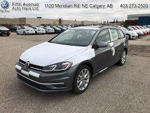 2018 Volkswagen GOLF SPORTWAGEN Comfortline DSG 4MOTION  - $216.69 B/W