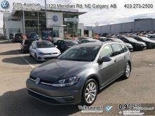 2018 Volkswagen GOLF SPORTWAGEN Comfortline DSG 4MOTION  - $191.63 B/W