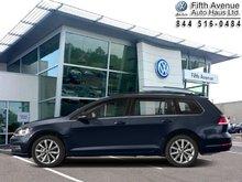 2018 Volkswagen GOLF SPORTWAGEN Comfortline DSG 4MOTION  - $219.03 B/W
