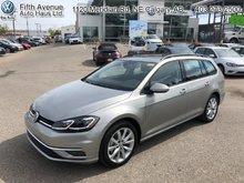 2018 Volkswagen GOLF SPORTWAGEN Comfortline DSG 4MOTION  - $192 B/W