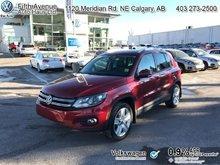 2014 Volkswagen Tiguan Comfortline  - Certified - $156.51 B/W