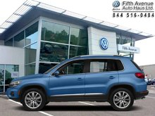 2017 Volkswagen Tiguan Wolfsburg Edition  - Certified - Sunroof - $191.30 B/W