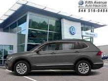 2018 Volkswagen Tiguan Comfortline 4MOTION  - $242.66 B/W