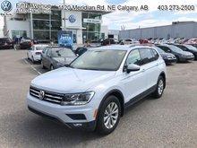 2018 Volkswagen Tiguan Trendline  - Certified - $190.25 B/W