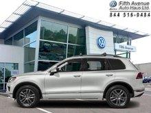 2017 Volkswagen Touareg Wolfsburg Edition  - Certified - $326.46 B/W