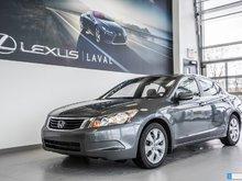 2009 Honda Accord Sedan EX-L / 1 Propriétaire seulement