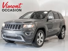 2014 Jeep Grand Cherokee LIMITED CUIR TOIT MAGS GPS CAMÉRA DE RECUL