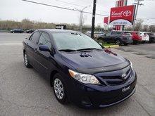 Toyota Corolla CE A/C PORTES ÉLECTRIQUES 2013