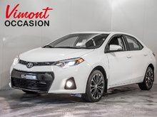 2015 Toyota Corolla 2015+S+A/C+GR ELEC+CAMERA RECUL+BANC CHAUFFANTS
