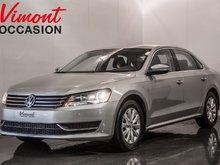 2014 Volkswagen Passat TRENDLINE GR.ELECTRIQUE+ MAGS+ SIEGES CHAUFFANTS