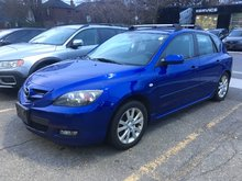 2007 Mazda Mazda3 VEHICLE SOLD AS IS!!! MANUAL SPORT, GS!!!