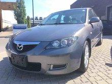 2008 Mazda Mazda3 GS, MANUAL, ACCIDENT FREE, A/C, CRUISE CONTROL