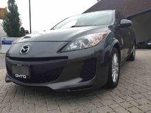 2013 Mazda Mazda3 GX, CAR-PROOF VERIFIED