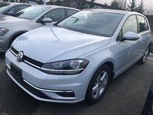 2018 Volkswagen Golf Comfortline Auto