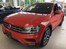 2018 Volkswagen Tiguan COMFORT 2.0 TSI 184HP 8SP AUTO TIP 4-MO