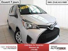 Toyota Yaris LE HATCHBACK, AUTO, A/C, GR ÉLEC, BLUETOOTH 2015
