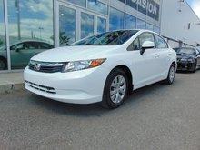 2012 Honda Civic Sedan LX MANUAL AC CRUISE