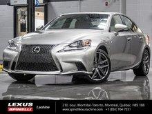 2016 Lexus IS 300 AWD F SPORT II; GPS TOIT CAMERA