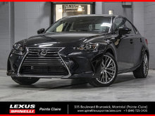 2018 Lexus IS 300 PREMIUM AWD; CUIR TOIT CAMERA LSS+