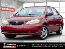 2005 Toyota Corolla REMOTE UNCLOCK