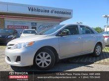 2013 Toyota Corolla D PKG $1700 DE RABAIS!!!!!!!
