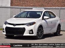 2014 Toyota Corolla S MAGS TOIT CAMÉRA ET ++