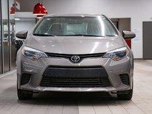 2014 Toyota Corolla LE CAMÉRA DE RECUL! SIÈGES CHAUFFANT! BLUETOOTH! DÉMARREUR À DISTANCE! BAS KILOMÉTRAGE! SUPER PRIX!