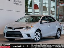 2016 Toyota Corolla CE LOW MILEAGE! VERY CLEAN! BLUETOOTH! ONE OWNER! AIR CONDITIONED! SUPER PRICE! HURRY!